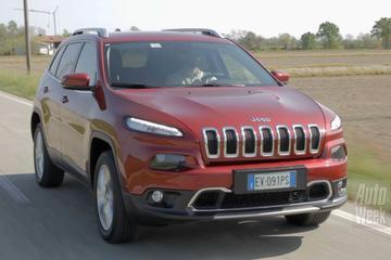 Rij-impressie - Jeep Cherokee