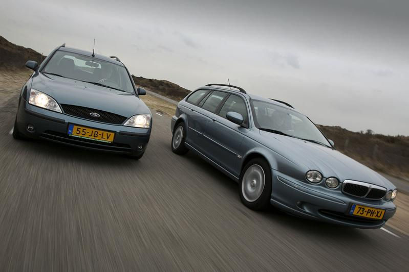 Ford Mondeo Wagon - Jaguar X-Type Estate