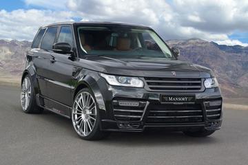 Range Rover Sport volgens Mansory