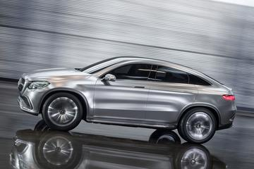 Mercedes Concept Coupé SUV in vol ornaat
