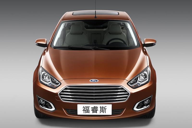 Ford Escort 2015 China