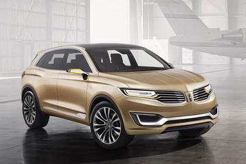 Vizier op China: Lincoln MKX Concept