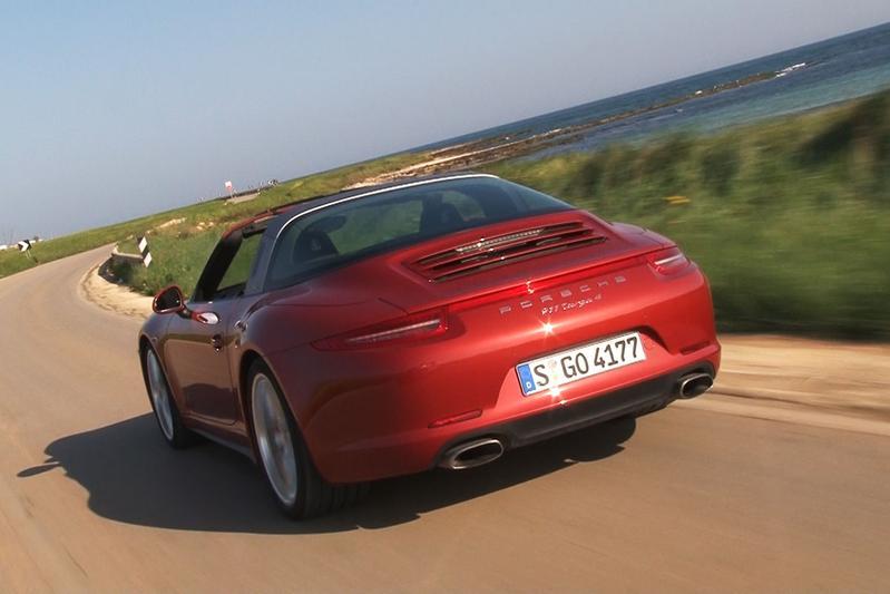 Rij-impressie - Porsche 911 Targa