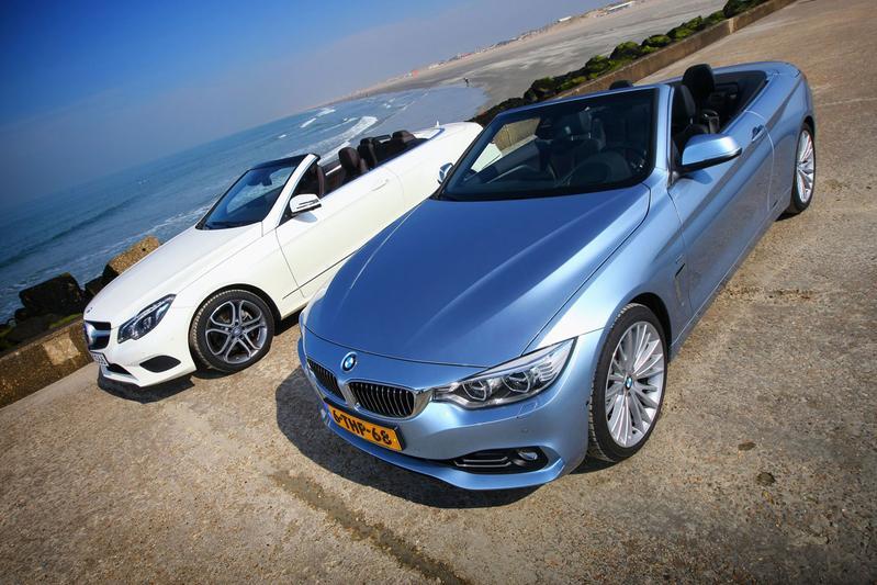BMW 428i Cabrio - Mercedes-Benz E 300 Cabriolet