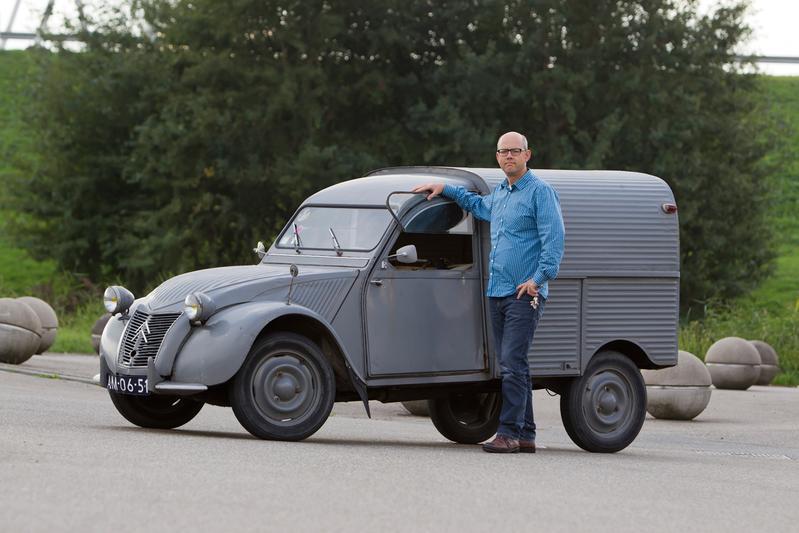 Op de rollenbank - Citroën 2CV AZU