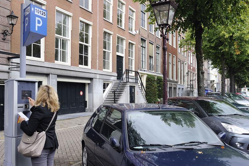 Parkeren in Amsterdam (foto ANP)