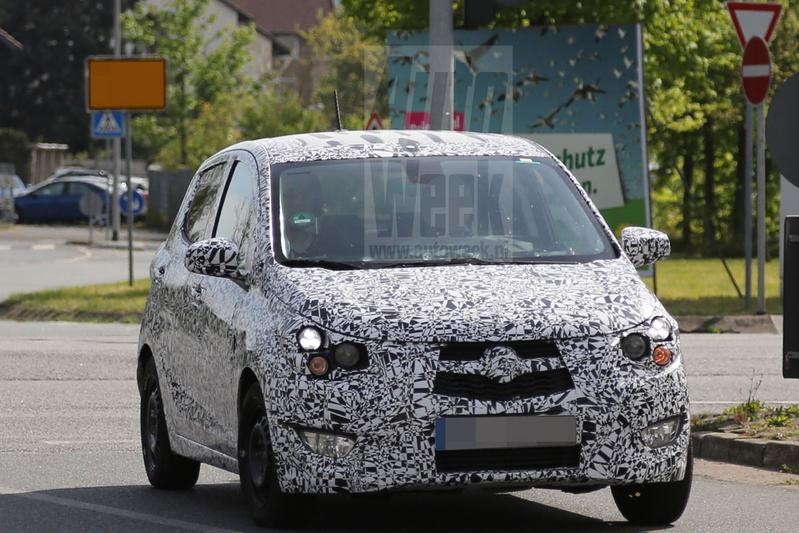 Opvolger Opel Agila voor het eerst gespot