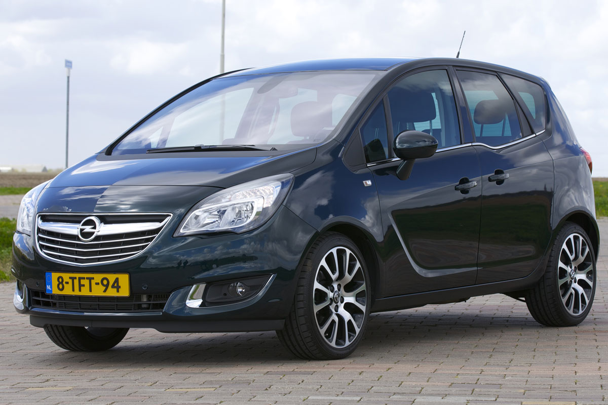 opel meriva 1 4 turbo cosmo automaat 2014 autotest. Black Bedroom Furniture Sets. Home Design Ideas