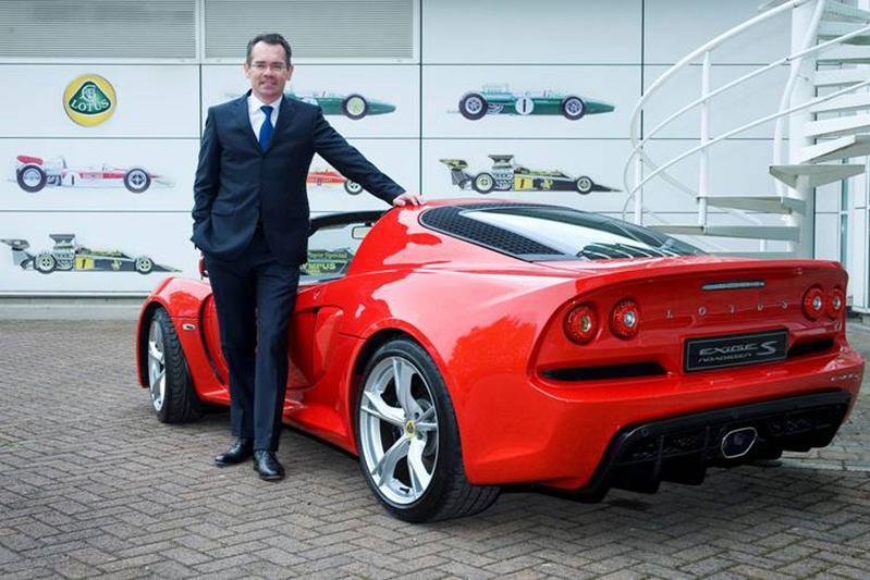 Lotus-CEO stapt op