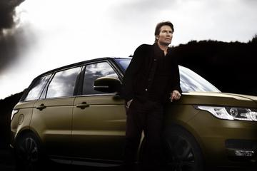 Piet Boon leeft zich uit op Range Rover Sport