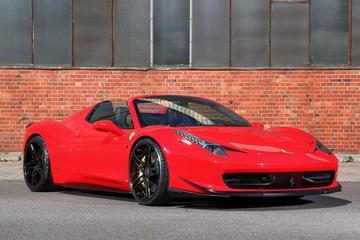 MEC Design kleedt Ferrari 458 Spider aan
