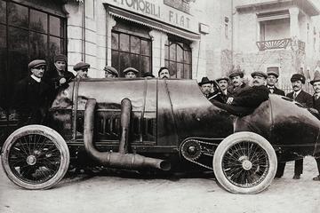 Fiat S76 na 100 jaar weer in actie op Goodwood