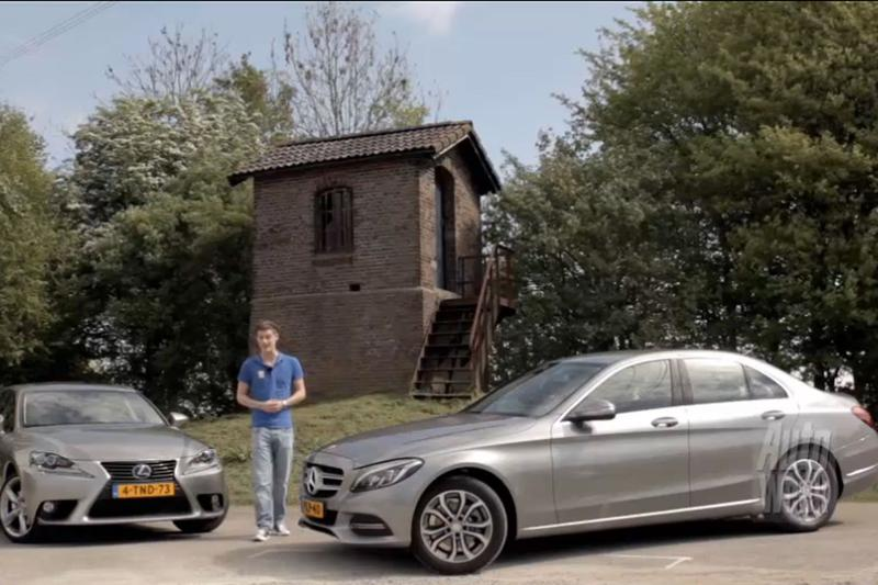 Dubbeltest - Mercedes C180 vs. Lexus IS300h