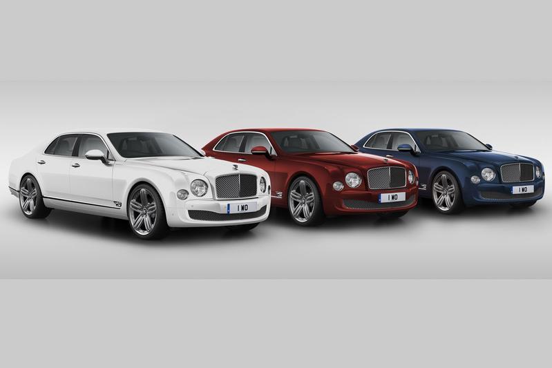 Bentley viert 95-jarig bestaan met Mulsanne