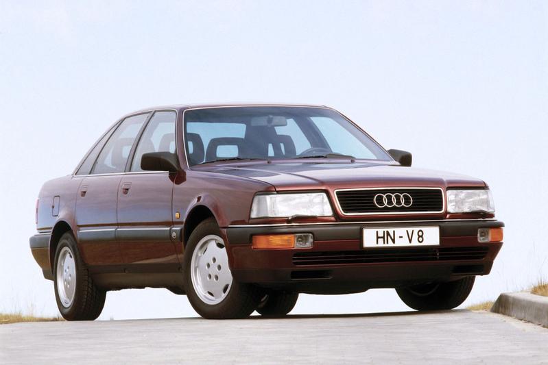 Audi A8-stamboom