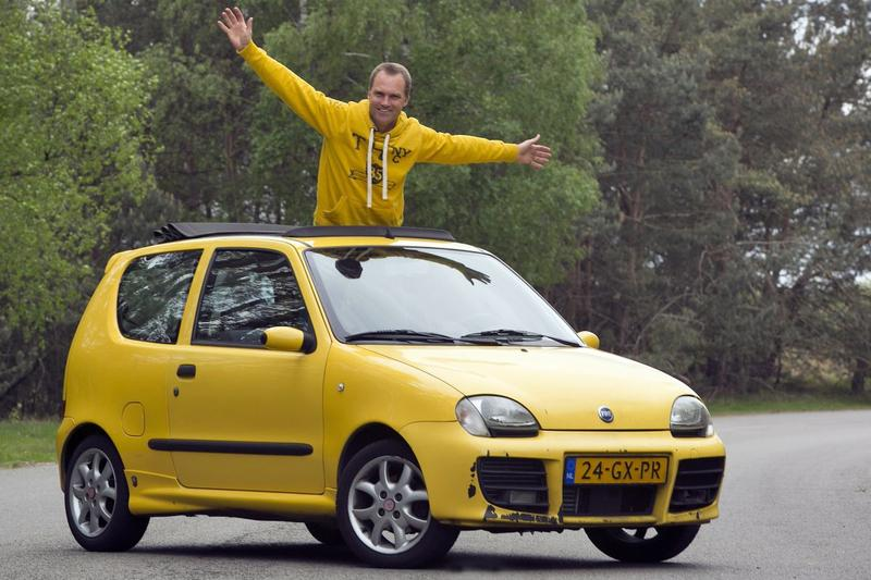 Klokje Rond - Fiat Seicento Sporting Abarth