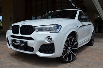 BMW X4 met M Performance aankleding