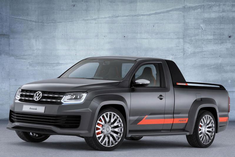 Volkswagen Amarok Power Concept: 5.000 watt!