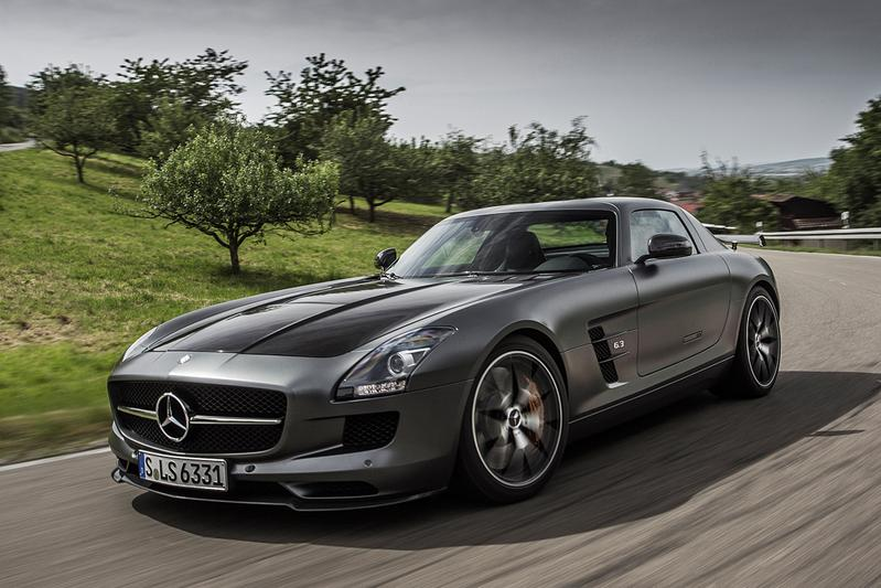 Rij-impressie Mercedes SLS AMG Final Edition