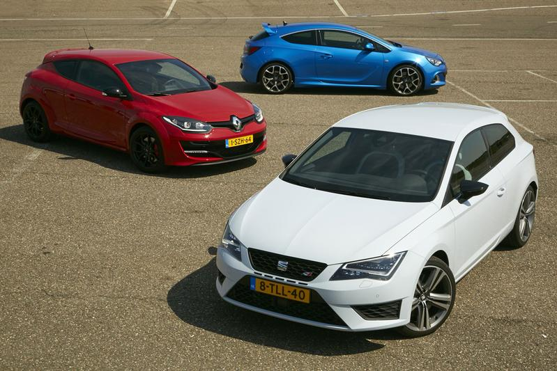 Renault Megane RS Cup - Seat Leon Cupra - Opel Astra OPC