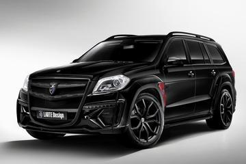 Larte Design presenteert Mercedes GL Black Crystal