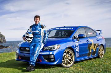 Subaru WRX STI scherpt record Isle of Man aan