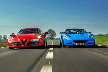 Alfa Romeo 4C - Lotus Elise S