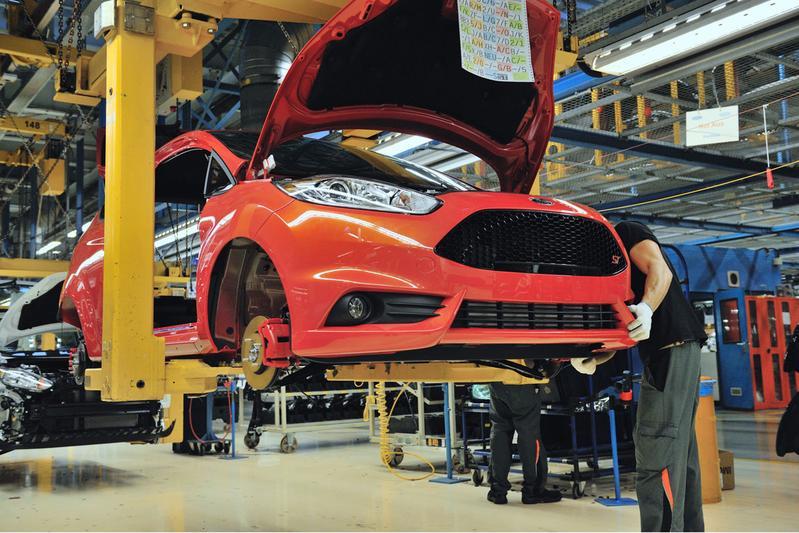 Productie Ford Fiesta ST in Keulen