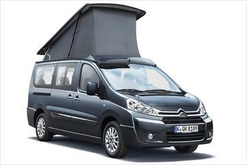Westfalia bouwt Citroën Jumpy-camper
