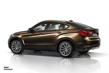 BMW Individual kleedt nieuwe X6 af