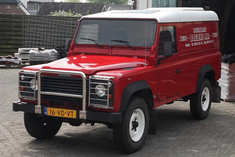 Geschiedenisles Land Rover Defender
