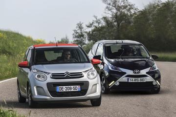 Eerste confrontatie: Toyota Aygo - Citroën C1