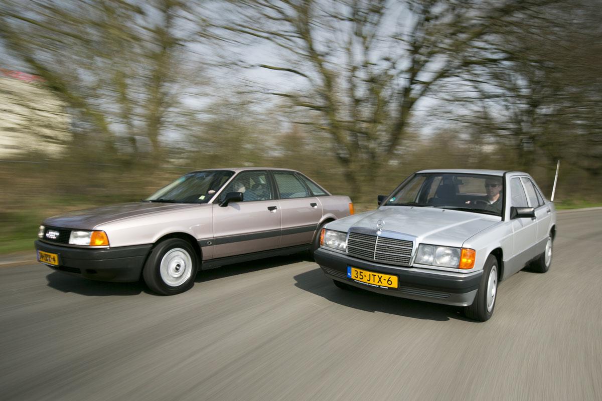 Audi 80 (1986) - Mercedes 190 (1989)