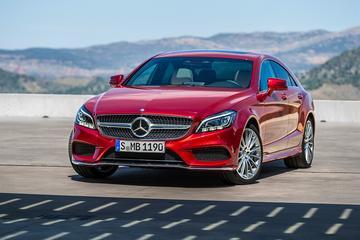 Mercedes trekt doek van gefacelifte CLS