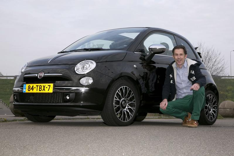 Op de rollenbank - Fiat 500 Twinair