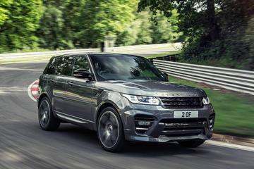 Range Rover Sport volgens Overfinch