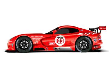 Dodge blikt terug met Viper GTS-R