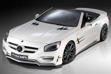 Mercedes SL in overdadige Piecha-jas