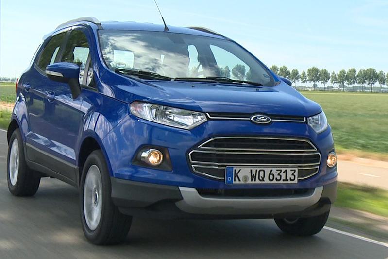 Rij-impressie Ford Ecosport