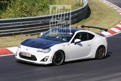 Toyota test toch snelle GT86