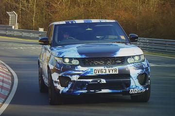 Range Rover Sport SVR snelste SUV op Ring