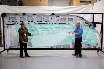 Ford Transit krijgt grootste airbag ooit
