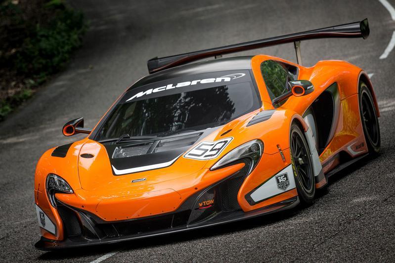 McLaren 650S GT3 klaar voor de circuits