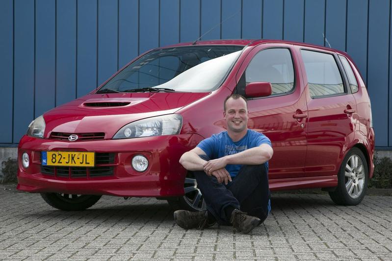 Rollenbank - Daihatsu YRV Turbo