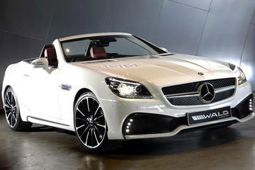 Mercedes SLK-klasse volgens Wald International