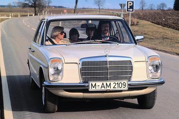 Mercedes viert 40 jaar 5-cilinder diesel