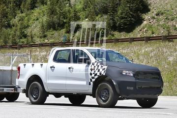 Gefacelifte Ford Ranger gaat voorbij