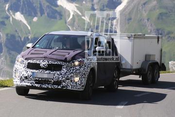 Nieuwe Kia Sorento doorkruist de Alpen