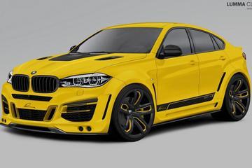 Voorproefje op 590 pk sterke BMW X6