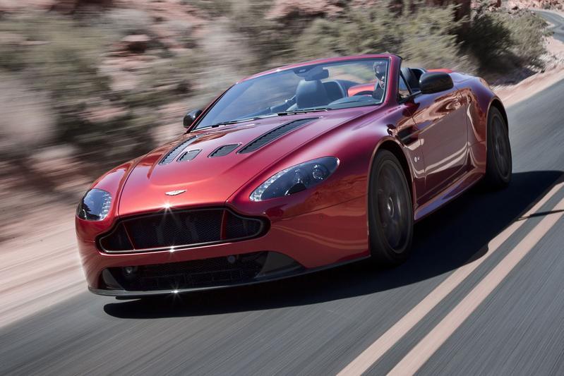 Aston Martin V12 Vantage S nu ook als Roadster